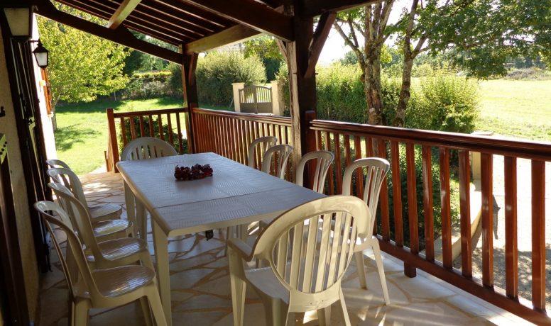 Villa Perigord - Front terrace