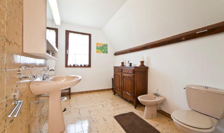 Villa Perigord - Salle de bain Chartreuse