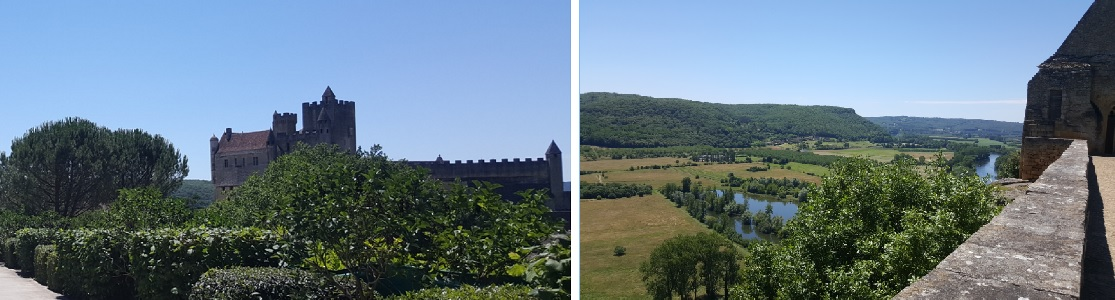 Chateau de Beynac and view