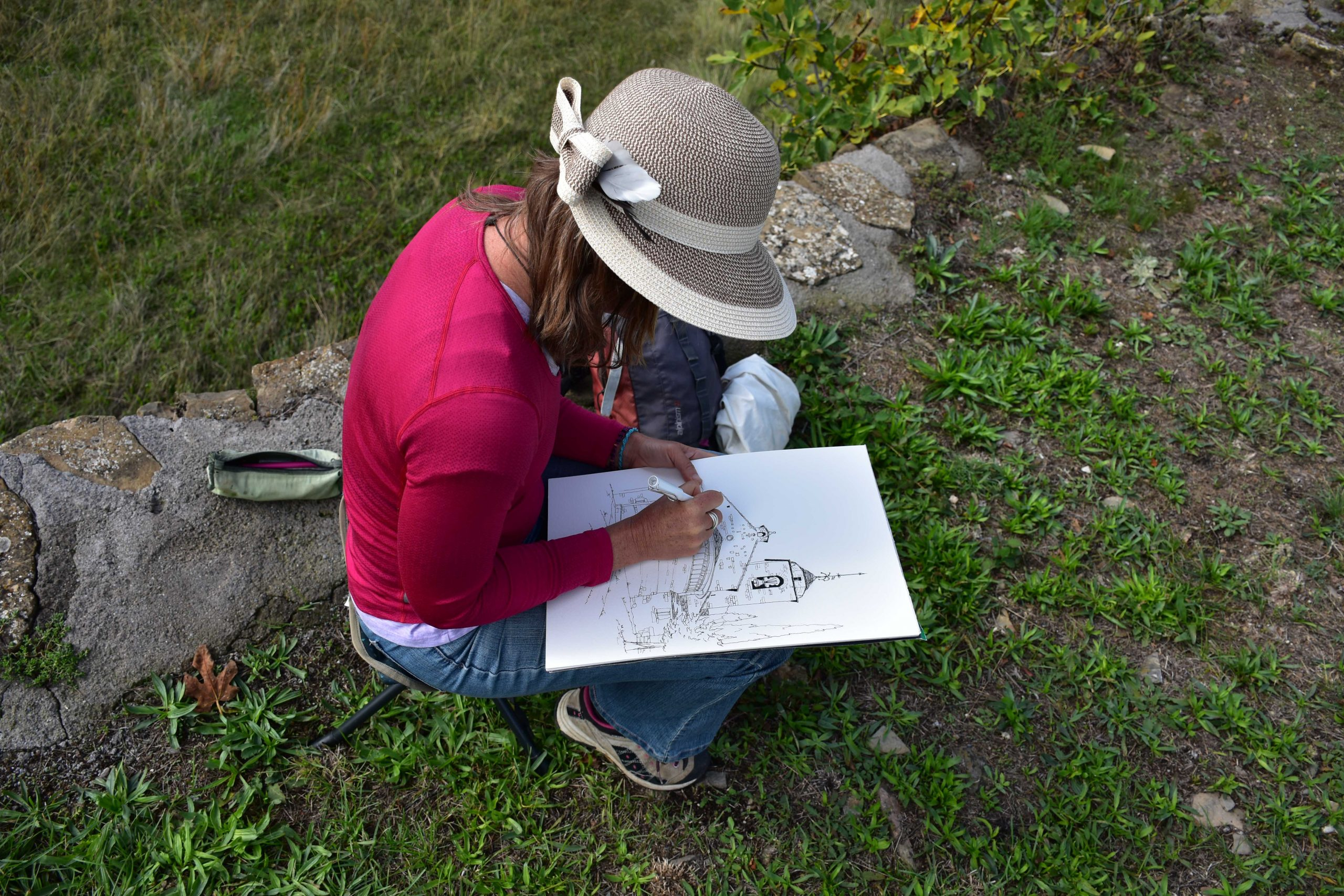 Renee Walden workshop perigord retreats